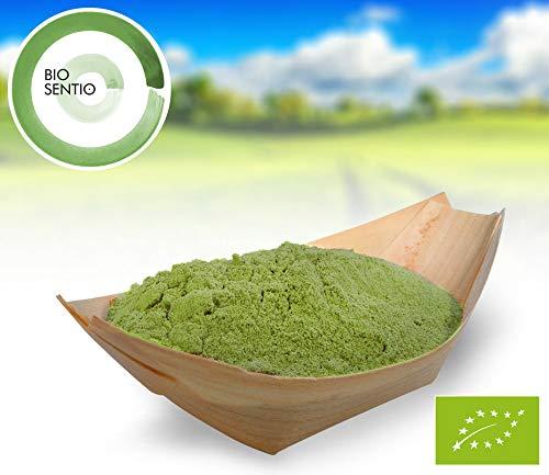 Bio Weizengras Pulver, 1000 g, in Deutschland angebaut und geprüft, Rohkostqualität!