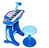 Best Piano For Toddlers - Kids Childrens Electronic 36-Key Keyboard Piano Blue Review