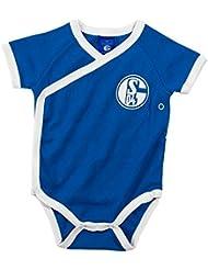S04 Baby Body königsblau Gr. 56-80 FC Schalke 04
