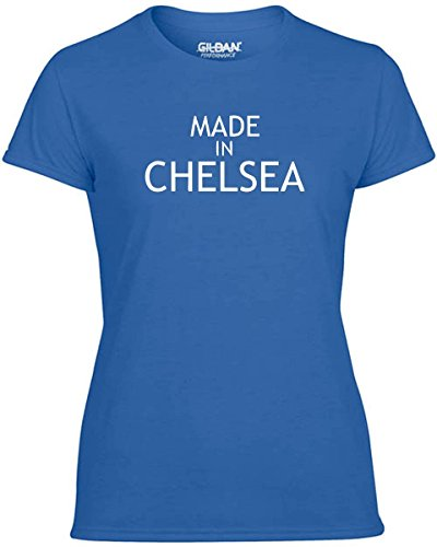 Cotton Island - T-shirt Donna WC0481 Made In Chelsea, Taglia L