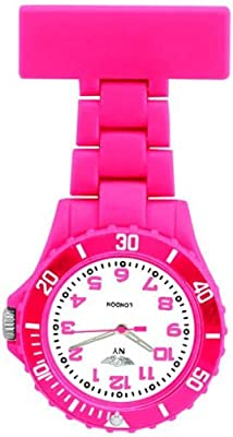 Rubberised plastic paramedic fob watch