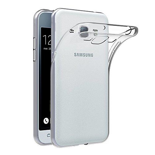 Samsung Galaxy J1 2016 Hülle Case, AICEK Galaxy J1 2016 Case Silikon Soft TPU Crystal Clear Premium Durchsichtig Handyhülle Schutzhülle Case Backcover Bumper Slimcase für Galaxy J1 2016 SM-J120F
