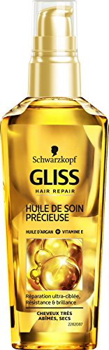 Schwarzkopf - Gliss - Huile Soin Précieuse Cheveux - Ultimate Repair - 75 ml