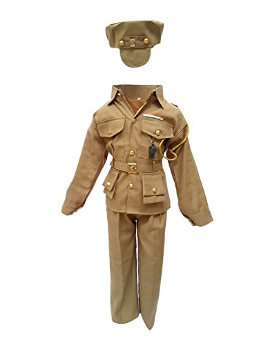 KFD Police Man Fancy Dress For Kids,Our Helper Costume For Annual Function/Theme Party/Competition/Stage Shows Dress