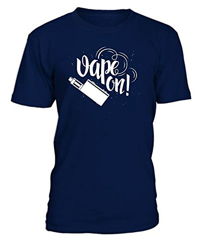 OneCode® Dampfer T-Shirt Vape On, Dunkelblau, XXXL