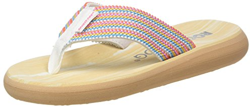Rocket Dog Damen Spotlight Zehentrenner Multicolour (Bubble Gum)