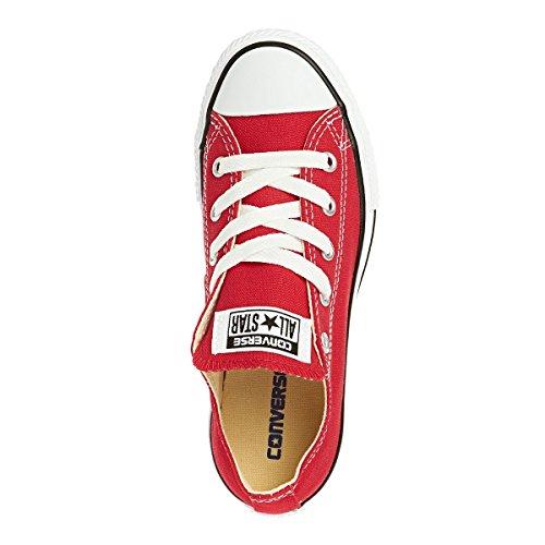 Converse  Scarpe Da Ginnastica, Bambini Rosso (Red)