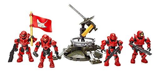 Mattel Mega Bloks DLB95 - Konstruktionsspielzeug, Halo UNSC Fireteam Stingray (Halo Lego Spielzeug)