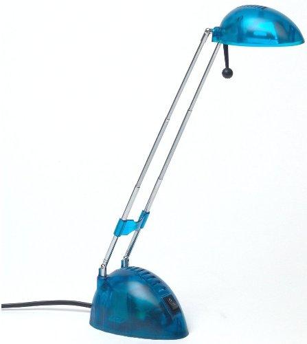 BRILLIANT PADDY Tischlampe Schreibtischlampe Leselampe Transparent Höhe 44 cm