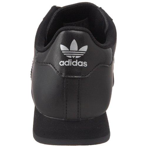 Adidas Originals Samoa J casual Sneaker (bambinone), nucleo nero / corsa White / Metallic / oro, 4 M Core Black