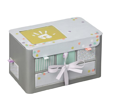 Baby Art - 34120113 - Treasure Box - Cofanetto con cassetti e scomparti