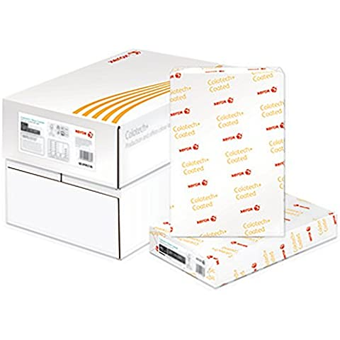 Xerox Colotech+ White A4 120 gsm SGS-PEFC/COC-0837 - 70% - Papel (A4 (210×297 mm), Color blanco, Laser printing,
