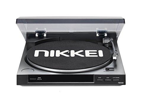 Nikkei NTT01U tooadisoos (33/45 RPM, conexión USB) Colour negro