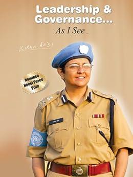 Leadership & Governance... As I See... by Kiran Bedi by [Bedi, Kiran]