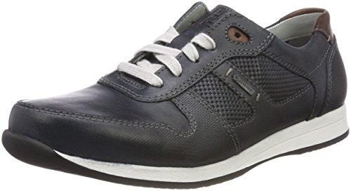 Fretz Men 9413.0662 - Slippers de Cuero Hombre, Color Negro, Talla 41 1/3 EU