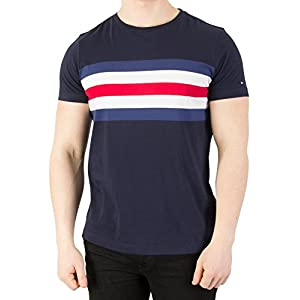 Tommy Hilfiger Lars STP C-nk tee S/S RF Camiseta para Hombre