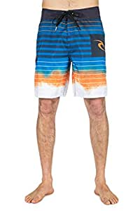 """Rip Curl Shipwrecks 19"""" Boardshort Homme Orange FR : S (Taille Fabricant : 30)"""