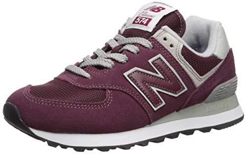 New Balance Damen 574v2 Sneaker, Rot (Burgundy/White Er) Er, 40 EU -