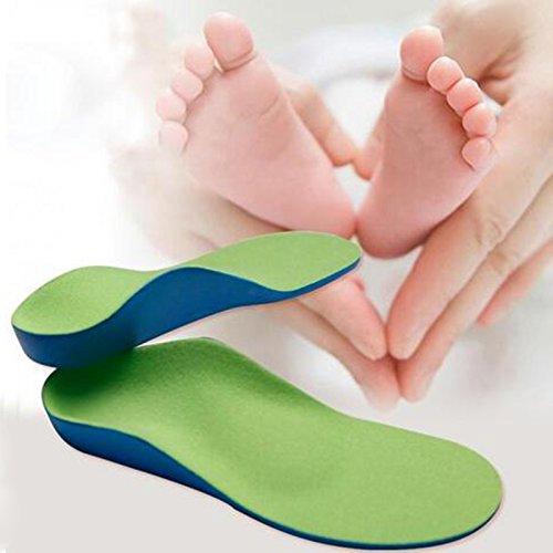 uniqus 1Paar healthsweet Plattfuß Arch Unterstützung Orthopädische Sohle Füße Pflege 9Größen PU-Schaum Kids Orthopädische Einlegesohlen für Kinder Baby Schuhe (Orthopädische Versorgung)