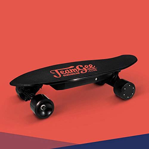 SUN EAGLE Elektrisches Skateboard 350w Dual Motor Höchstgeschwindigkeit 25km / H Abnehmbare Fischplatte Drahtlose Bluetooth-Fernbedienung Neues Spiel Cool Brush Street Skateboard (Eagle Wheels Scooter)