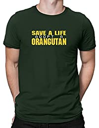 Teeburon Save a life, adopt a Orangutan T-Shirt