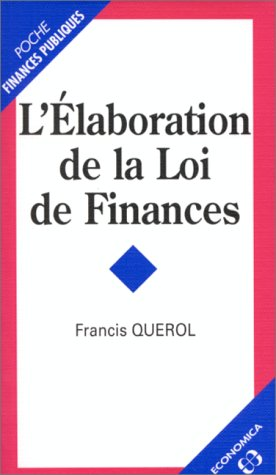 L'laboration de la loi de finances