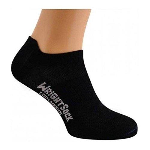 Wrightsock Coolmesh II Low Tap Socke Black 37.5-41 -