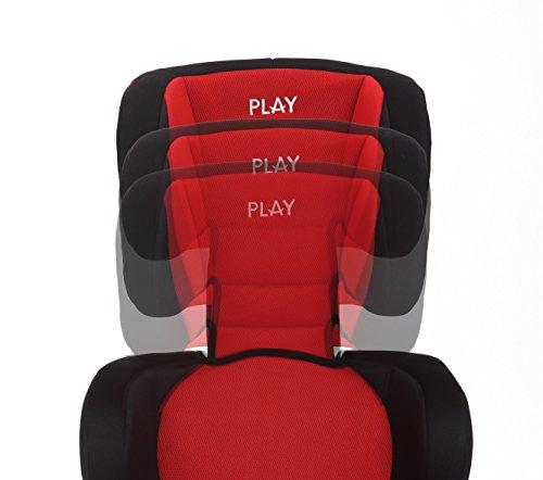 Play Safe Two - Silla de coche, grupo 2/3, color rojo y negro