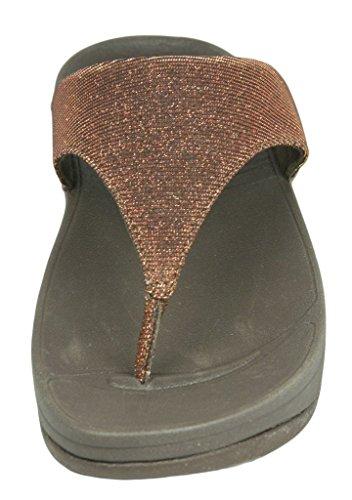 FitFlop™ Super Electra™ Sandals Bronze Metallisch