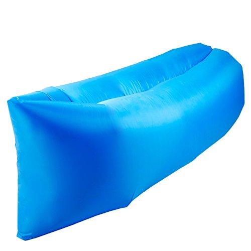 Aufblasbares Sofa-Bett Im Freien Tragbares Faules Luft-Bett-einzelnes Innenbett-schnelle Aufblasbare Matte,B