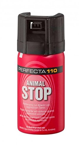 Perfecta Pfefferspray 40 ml Wolke Tierabwehr Abwehrspray FPP 4190, Mehrfarbig, Größe