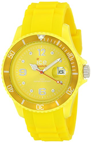 Ice-Watch – ICE forever Yellow – Men's (Unisex) wristwatch with silicon strap – 000137 (Medium)