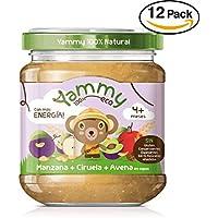 Yammy, Potito Ecológico de Frutas (Manzana, Ciruela, Avena) - 12 de