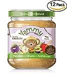 Yammy, Potito Ecológico de Frutas (Manzana, Ciruela, Avena) - 12 de 195 gr. (Total 2340 gr.)