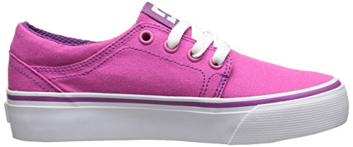 DC Shoes  Trase Tx,  Sneaker Ragazzo Rosa (Rosa (Fuchsia))