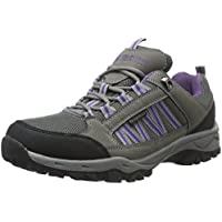 Mountain Warehouse Path Waterproof Womens Walking Shoes - Breathable Ladies Shoes, Mesh Lining All Season Shoes, High Traction Sole Hiking Shoes -For Everyday Use