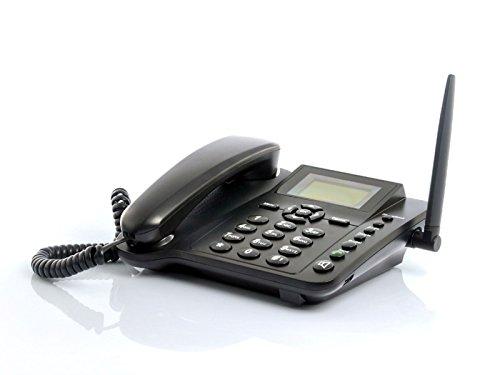 RC-Angel GSM SIM-Karte für Schreibtisch, kabellos, Quad Band, Festnetz, große Taste, Senioren Sms-quad