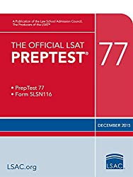 The Official LSAT PrepTest 77 (Official LSAT PrepTests)