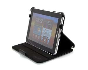 StilGut® UltraSlim Case, Tasche mit Stand- und Präsentationsfunktion für Samsung Galaxy Tab 7.0 Plus & Plus N, schwarz