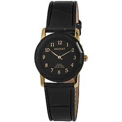 Akzent Damen-Uhren mit Polyurethan Lederband SS7301000022