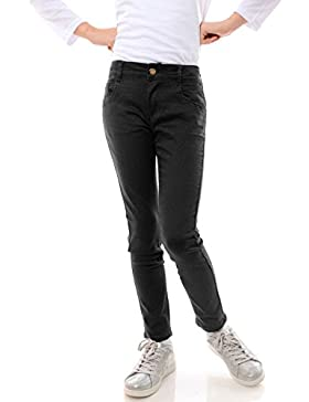 GP Creation Mädchen Jeans Stretch Kinder Hose Röhrenjeans Jeanshose Skinny