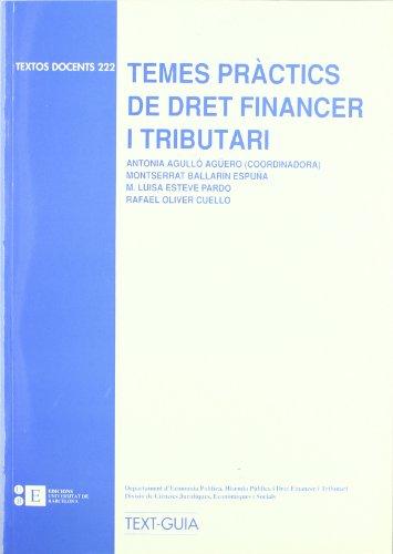 Temes Practics De Dret Financer