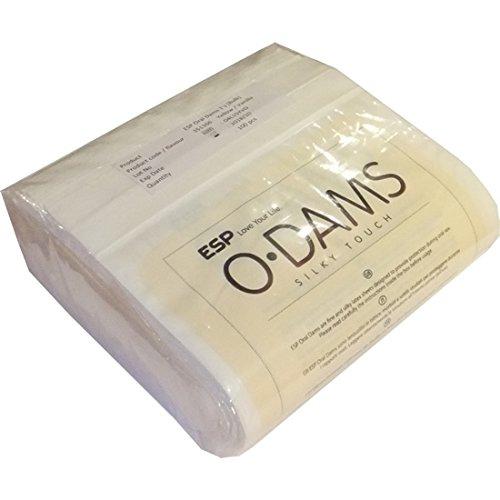 ESP Oral Dams «Vanilla» - 100 Latex-Schutztücher