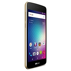 BLU Diamond M 3G SIM-Free 5.0 inch Smartphone with Android 6.0 Marshmallow - Gold