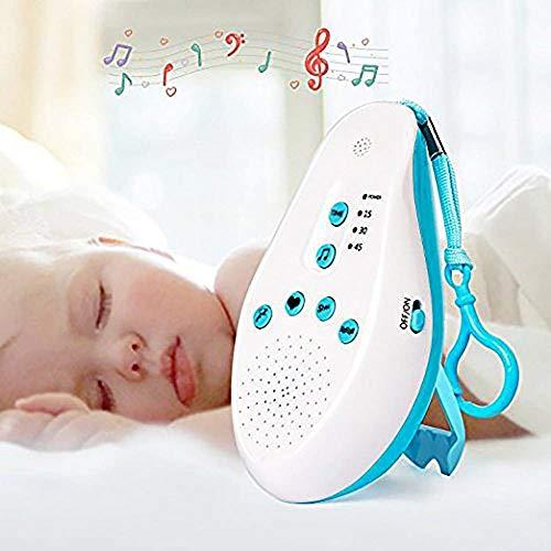JOLLY Babyweißes Geräuschgerät mit 5 Arten von beruhigender Hilfe zur Behandlung von Ton, Sprachsensor, tragbarem Reisen und Zuhause (Akustik-wireless-lautsprecher)
