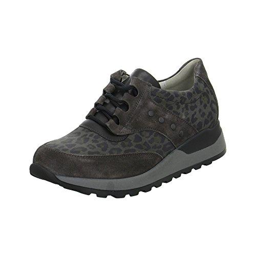Mulheres Hiroko Waldläufer Cinza Baixos Sapatos xrB0WSUnr