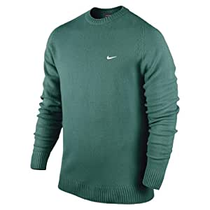 Nike Golf Adults NW Lambswool Crew Neck L.C. Green green Size:M