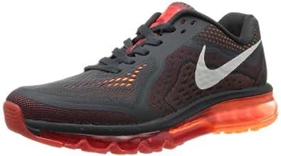 Nike Mens Air Max 2014 Running Shoes Anthracite/Light Crimson/Atomic Orange/Sail 8.5 D(M) US