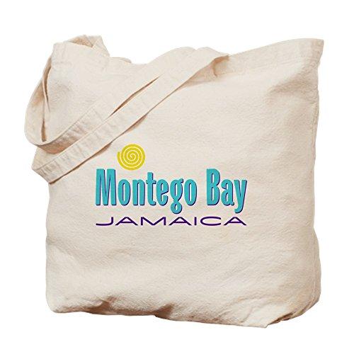 CafePress–Montego Bay–Tote oder Beach Bag–Leinwand Natur Tasche, Einkaufstasche S khaki