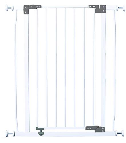 Dreambaby F1961 Liberty extra hohes Treppenschutzgitter/Türschutzgitter (75-82cm) weiß